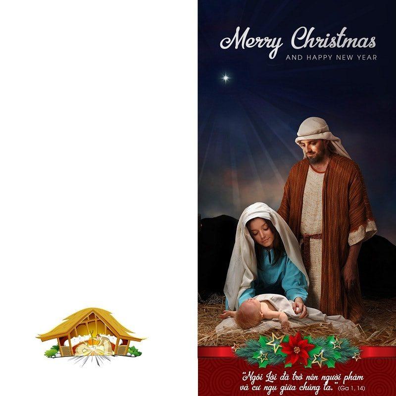 Thiệp giáng sinh 5