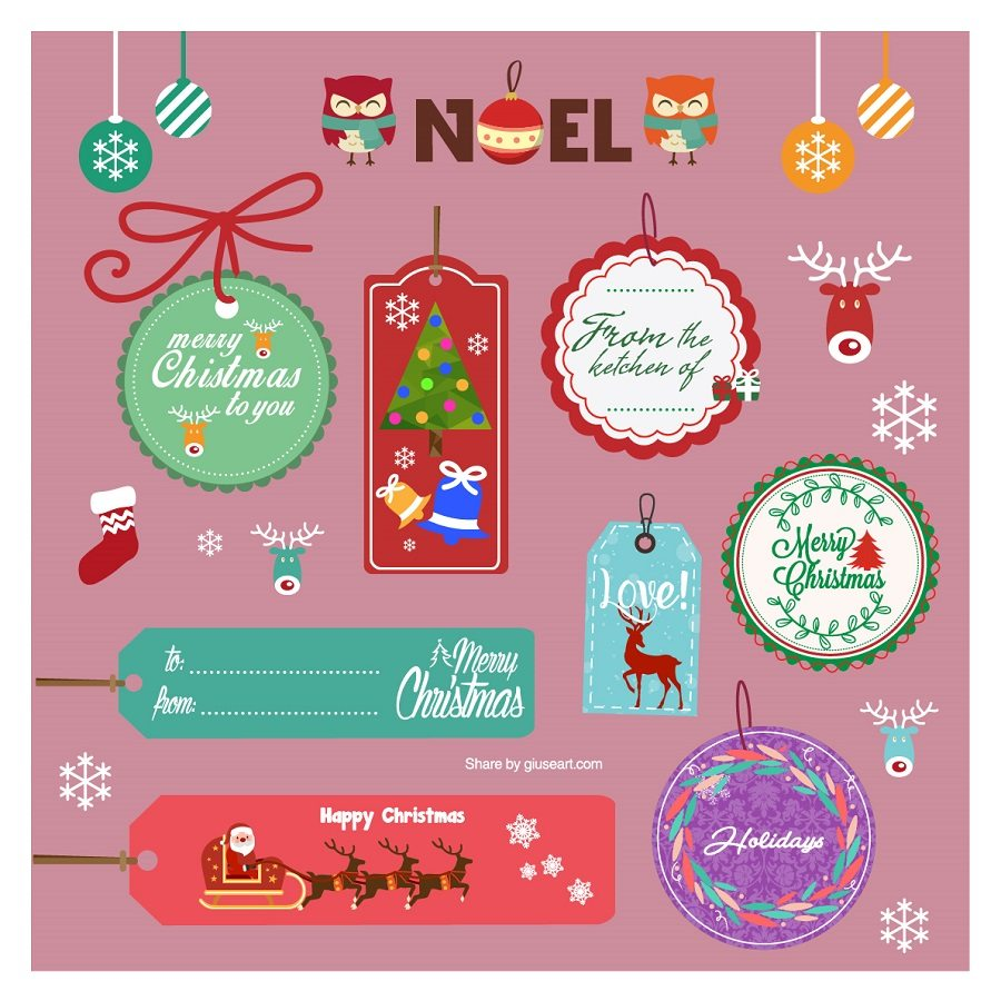 christmas-gift-tags-design-with-flat-modern-icons-01