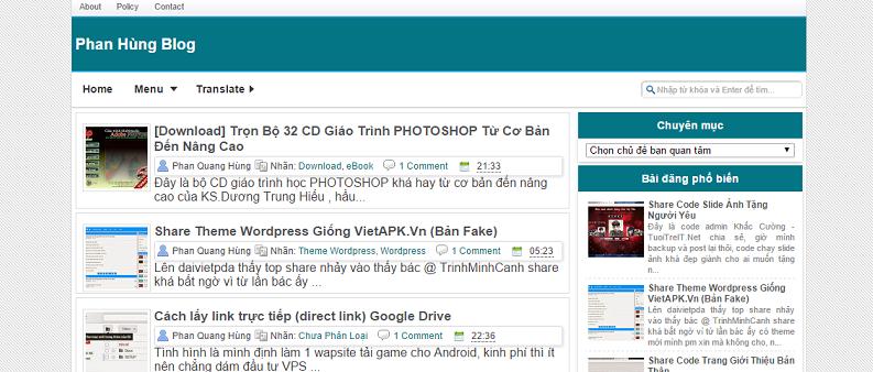 lam blog