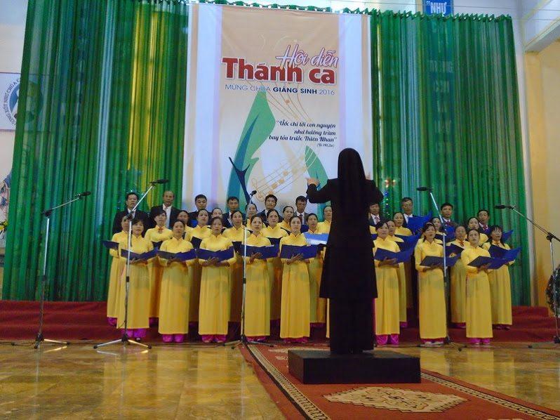 Phông sân khấu hội diễn thánh ca