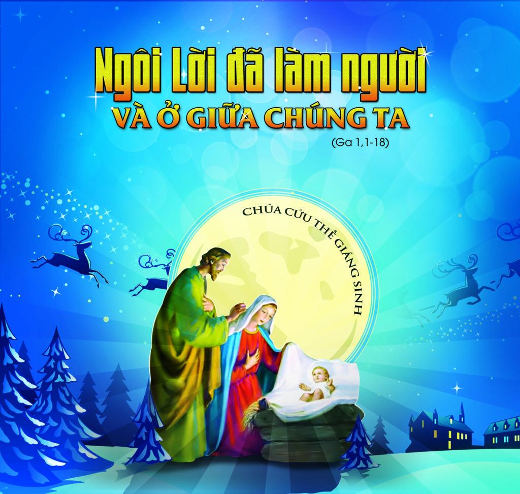 Phông sân khấu Giáng Sinh