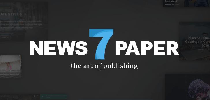 newspaper theme