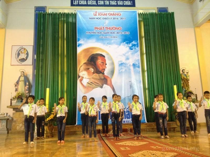 Lễ khai giảng giáo lý