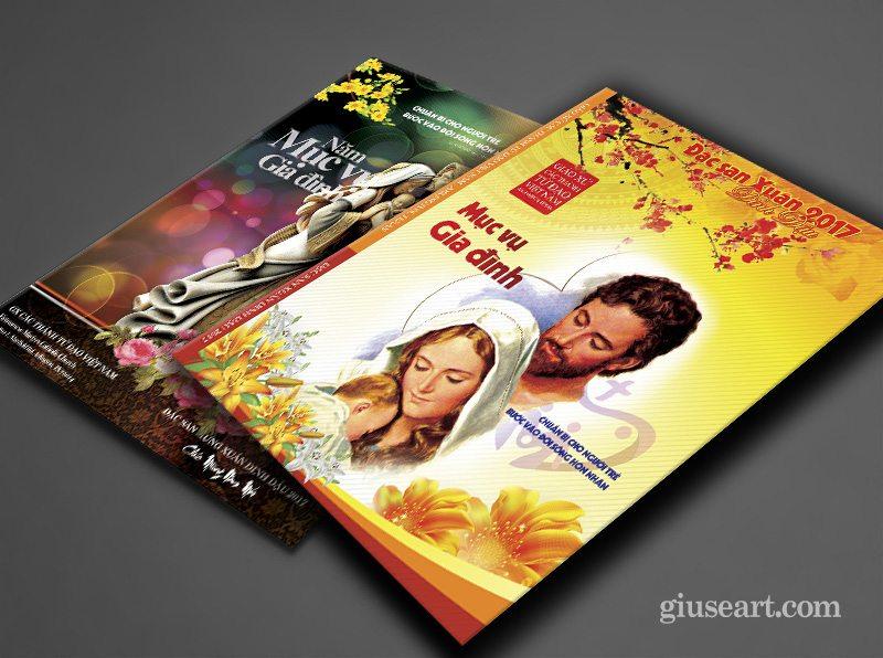 Mẫu bìa Tập san Công giáo Xuân Đinh Dậu 2017