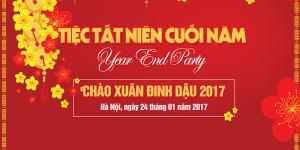 Phông sân khấu Chúc Mừng Năm Mới 2017