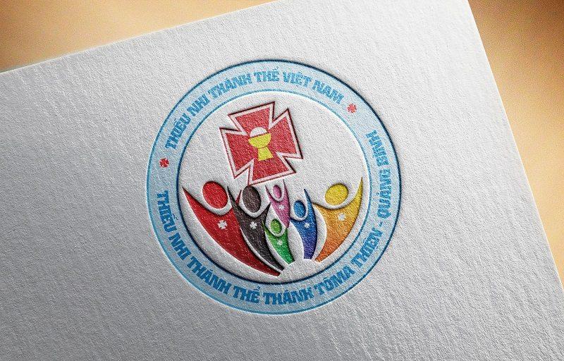 logo thieu nhi thanh the huong phuong