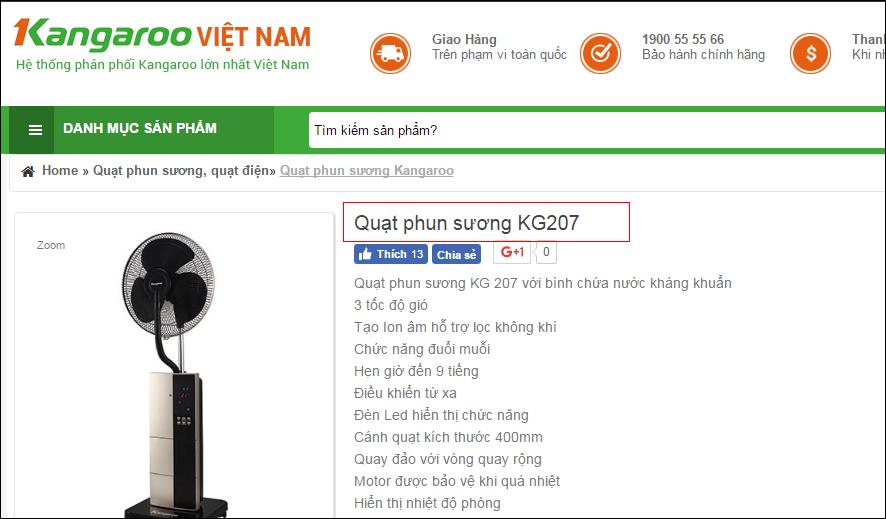 Thẻ tiêu đề dùng để viết tên sản phẩm trong các trang web bán hàng