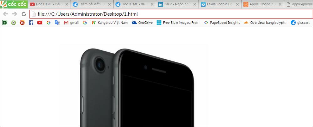 thẻ chèn hình ảnh trong html