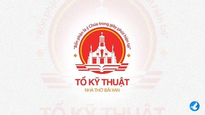 Logo Công giáo tổ kỹ thuật Nhà thờ Bãi Xan