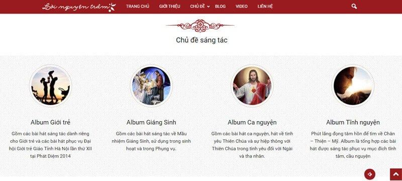 Các chủ đề sáng tác âm nhạc của cha Nguyễn Văn Định