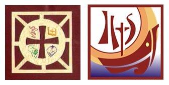 Dạng logo công giáo hình vuông
