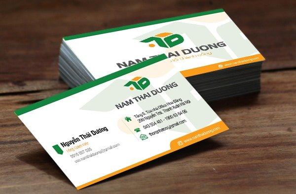 Thiết kế namecard giá rẻ
