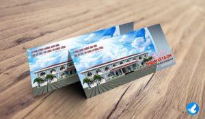 Thiệp mời Lễ Tạ Ơn Khánh Thành Nhà Phòng Quảng Nạp
