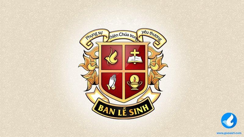 Logo Công giáo - Logo Ban Lễ Sinh
