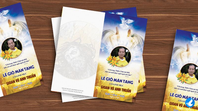 Thiệp mời Lễ Giỗ Mãn Tang
