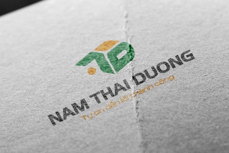 Logo Công ty Xây dựng Nam Thái Dương