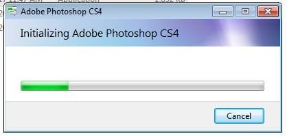cài đặt photoshop cs4