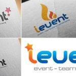 ý tưởng thiết kế logo ievent