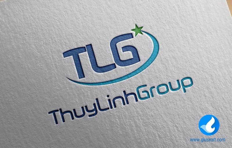 Logo công ty máy tính Thùy Linh