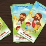 Phiếu tham dự Thánh lễ cho Thiếu Nhi