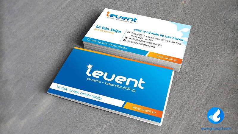 card visit công ty tổ chức sự kiện ievent