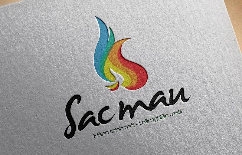 Logo công ty cổ phần quốc tế sắc màu 2