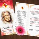 Thiệp mời Lễ Bổn Mạng Huynh trưởng TNTT 5