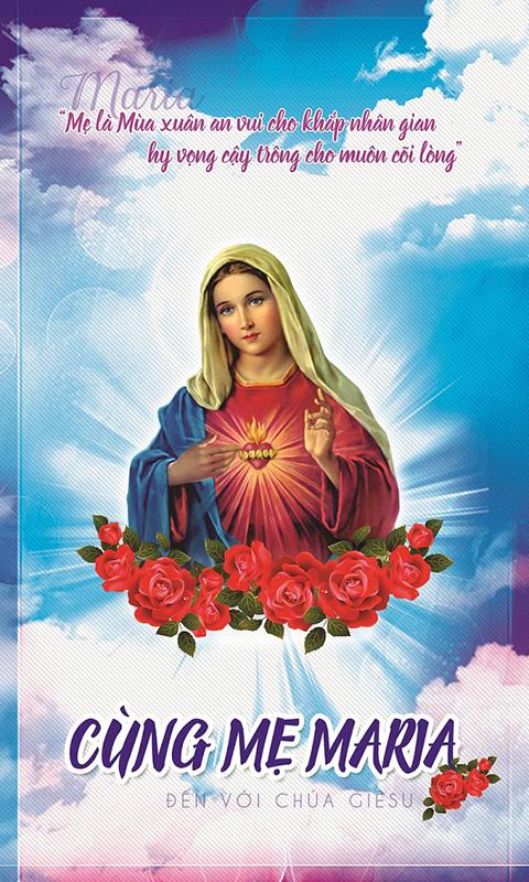 cùng mẹ maria đến với chúa