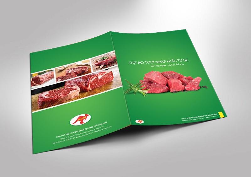Catalogue Thịt bò tươi nhập khẩu 1