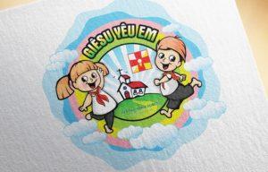 Logo Sinh nhật lần thứ VI Thiếu nhi thánh thể Maria Goretti Lãng Vân