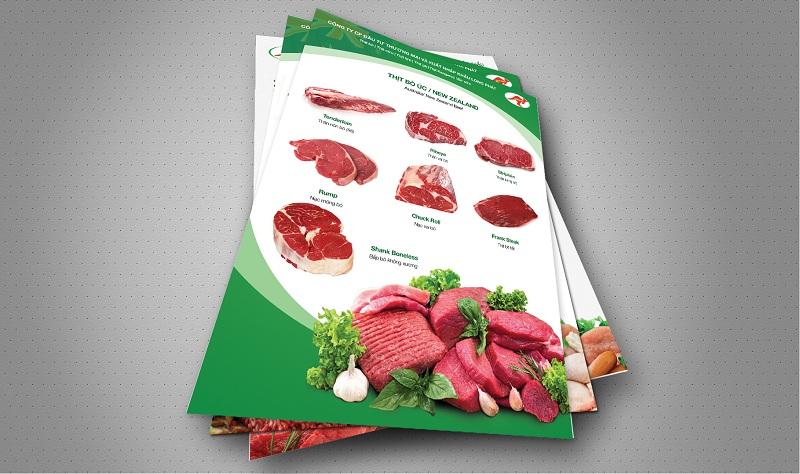 Catalogue Thịt bò tươi nhập khẩu 6