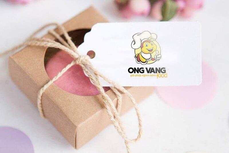 Thiết kế logo thương hiệu Ong vàng Food