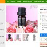 Demo website bán Mỹ phẩm của Giuseartcom