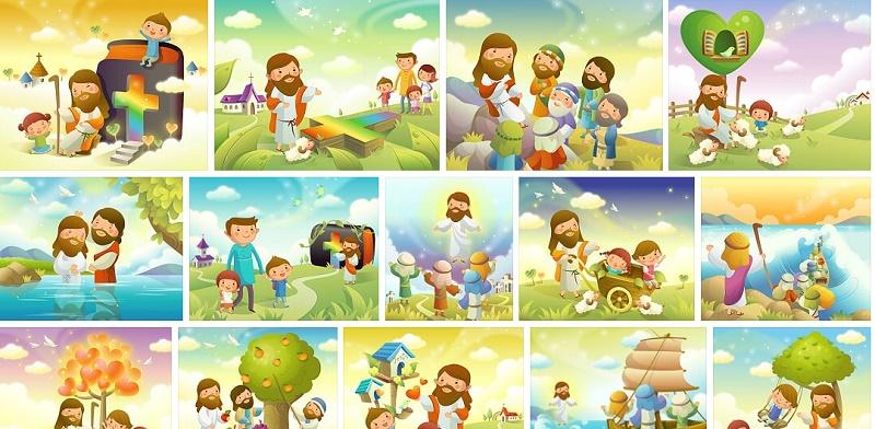 chúa giêsu và trẻ em 1