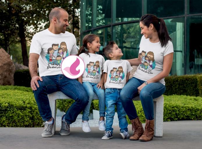 Vector công giáo - Gia đình yêu chúa 4