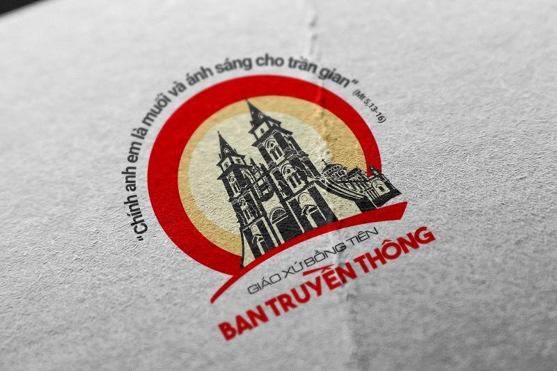 Logo Công giáo - Ban truyền thông Giáo xứ Bồng Tiên