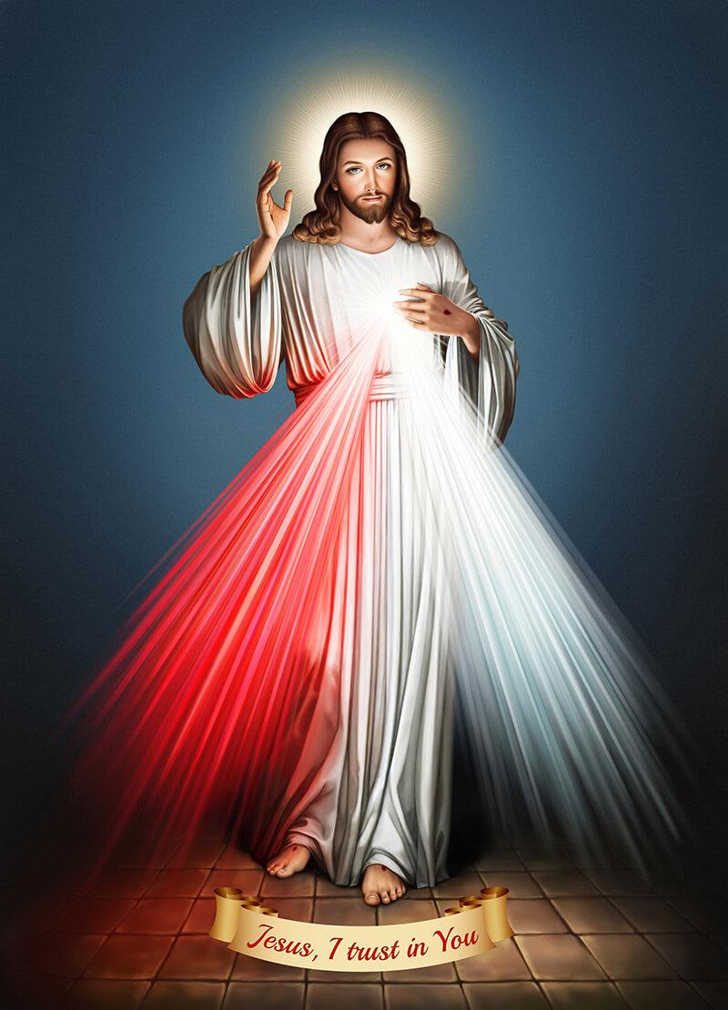 File in khổ lớn Lòng Chúa thương xót 2
