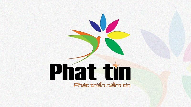 Logo xưởng in phun khổ lớn Phát Tín
