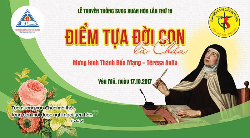 Phông sân khấu Lễ truyền thống SVCG Xuân Hòa