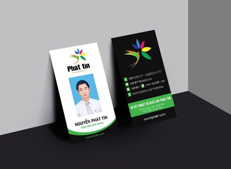 Thẻ nhân viên - Xưởng in phun khổ lớn Phát Tín