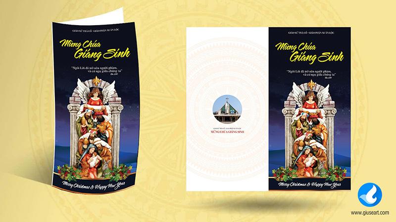 Thiệp Giáng Sinh Giáo xứ Trà Cổ 4