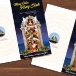 Thiệp Giáng Sinh Giáo xứ Trà cổ 2