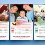 Thiết kế Lịch Công giáo - Bộ lịch Năm mới 2018 - Đồng hành với các Gia đình trẻ 6