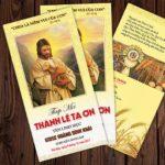Thiệp mời Lễ Tạ Ơn Tân Linh Mục