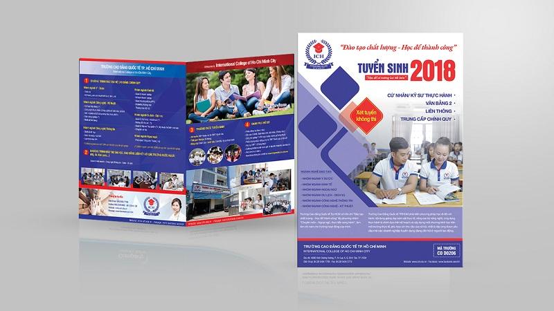 Brochure tuyển sinh của Trường Cao đẳng Quốc tế TP-HCM 2
