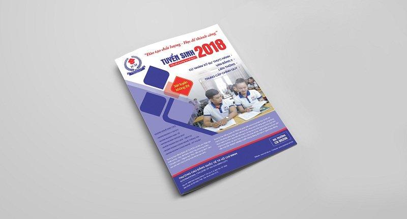 Brochure tuyển sinh của Trường Cao đẳng Quốc tế TP-HCM 3