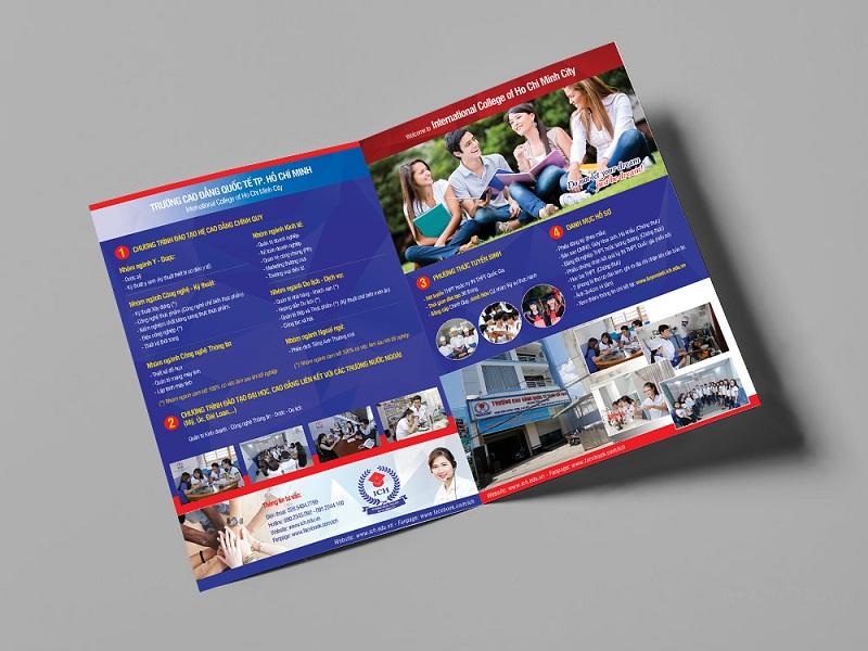 Brochure tuyển sinh của Trường Cao đẳng Quốc tế TP-HCM 4