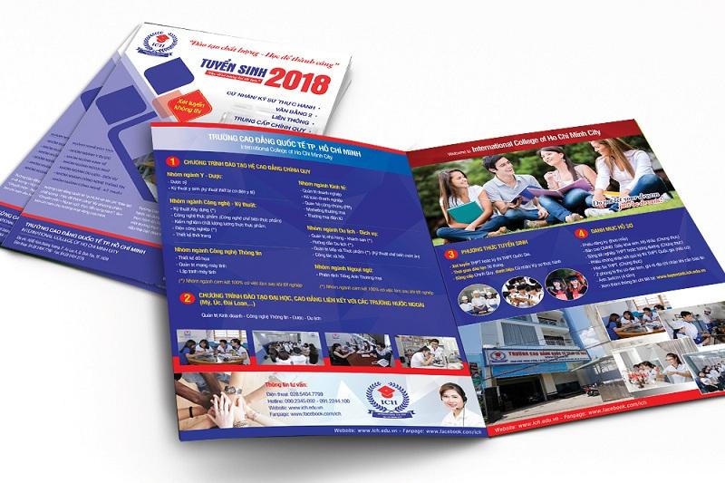 Brochure tuyển sinh của Trường Cao đẳng Quốc tế TP-HCM