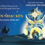 Phông sân khấu Hội diễn Nhạc kèn mừng Chúa Giáng Sinh 2017