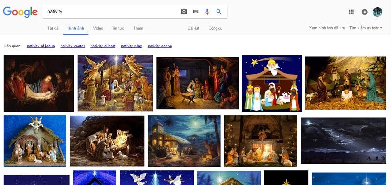 Tìm kiếm tư liệu trên google